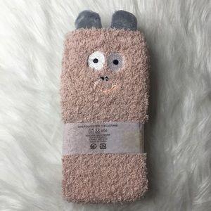 Mei Hao Accessories - Fluffy Fuzzy Monster Socks!